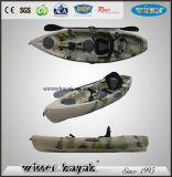 Одиночный дешевый пластичный Kayak морского рыболовства