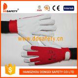 Katoenen van de Huid van het Varken van Ddsafety 2017 Rug voor de Algemene Handschoenen van de Werkende Plaats
