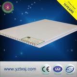 Panneau de plafond plat lustré mat ou élevé de PVC