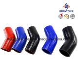 Boyau industriel en caoutchouc de boyau de boyau de silicones/refroidisseur intermédiaire de qualité/de silicones résistance thermique