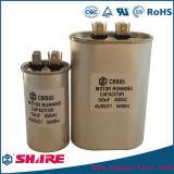 Cbb65 Sh 타원형 나사 축전기 모터 실행 AC 에어 컨디셔너 축전기