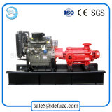 D de Horizontale Meertrappige Fabrikant van de Pomp van het Water van de Dieselmotor van de Hoge druk