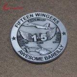 記念品のための卸し売り安いカスタムクラフトの金属の挑戦硬貨