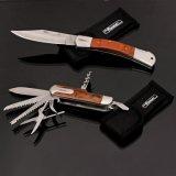 12 нож многофункциональной складчатости нержавеющей стали резца 2Cr13 функций карманный