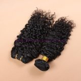 8A等級の束の波状の人間の毛髪の拡張巻き毛の織り方の人間の毛髪の織り方が付いているインドのバージンの毛水波