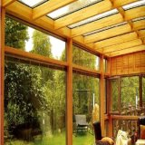 Усиленная стеклянным волокном структура пластичной крыши стальная для комнаты солнечного света
