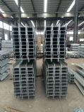 Estructura de acero galvanizada sumergida caliente de la viga de acero de H (Jiahexin)