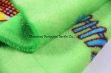 Flanelle en polyester imprimé / tissu en polaire de corail - 13240-9 2 #