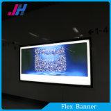 Alto brillante retroiluminada de PVC de Pringting la bandera por Cajas de luz Display