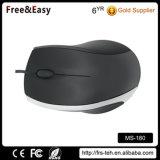 3 Tasten-Hand-USB verdrahtete Computer-Maus für Verkauf