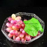 Подноса салата внимательности плодоовощ коробка свежих фруктов устранимого восьмиугольная пластичная