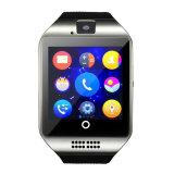 2016 남자 사치품 GSM 인조 인간 지능적인 시계 Q18