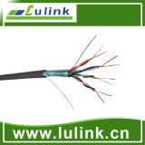 Cable de LAN de CAT6 UTP en cable de la red 24AWG de los 305m