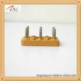 Bewegungsklemmenleisten mit galvanisierten Eisen-Schrauben