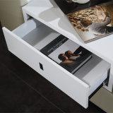 Белая кровать кожи цвета для пользы спальни (FB2092)