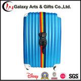 Прочный багаж Sacle цифров веся регулируемую планку багажа Tsa полиэфира радуги