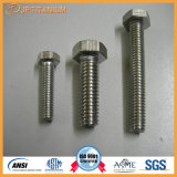 Calidad Superior Gr2 titanio sujetador, Titanio Tornillo de Industria