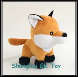 Животная игрушка шаржа подгоняет Fox плюша