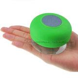 Altavoz sin hilos impermeable de Bluetooth del regalo de la promoción con insignia impreso (407)