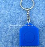 Высокотемпературное упорное мягкое удостоверение личности силикона откалывает карточку RFID MIFARE S70 ключевую Fob