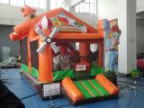 Casa de salto de la gorila del molino de viento inflable de los cabritos para la venta