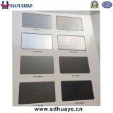 Plaque décorative en acier inoxydable en acier inoxydable en gris titane noir