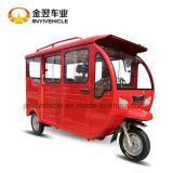 triciclo cerrado de la gasolina de 125cc 150cc 200cc para el pasajero con 4 asientos