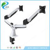 Jeo Double écran 15 '' - 27''inch 180 degrés pivotant réglable en hauteur YS-Ga24fu Clamp Monitor Cluster Monitor