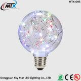 구리 철사 끈 다채로운 지구 빛 LED 장식적인 특허 전구