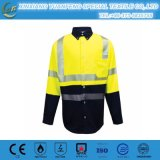 Vêtement protecteur ignifuge de 4.5oz Aramid Iiia