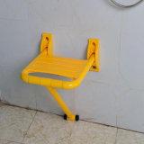 De gevouwen Nylon Zetel van het Bad van de Kruk van de Douche voor Bejaarden/Gehandicapten
