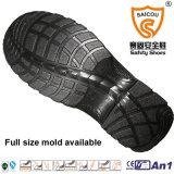 Zapatos de seguridad de la inyección de la PU con la punta de acero antiestática para trabajar