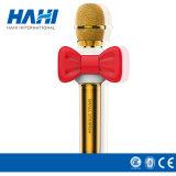 Microfone de estúdio de alta qualidade sem fio com microfone de condensador de karaokê