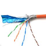 Câble SFTP LSZH orange de Cat5e
