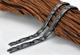 Hottime Spitzenverkaufs-Hämatit-keramisches Armband mit schwarzer Gewehr-Farbe