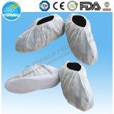 Cubierta del zapato no tejida con antideslizante, cubierta de zapatos desechables