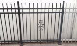 Eco Friendly Architectural Aluminium Metal Fence Panel para Jardim