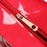 赤い防水PVCによってキャンデー着色されるハンドバッグ(23135)