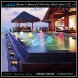 Bola LED luz de la piscina con el material de LLDPE para la decoración de vacaciones