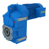 Motor Eixo-Helicoidal da engrenagem da paralela da série de F com eixo oco
