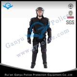 경찰 장비와 난동 통제 헬멧