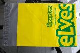 Желтой габарит уплотнения почты цвета напечатанный пластмассой