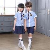 Самая последняя школьная форма способа Deisng, рубашка школьных форм малышей