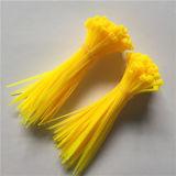 serres-câble en nylon colorés auto-bloqueurs de 2.5X100mm