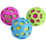 Juguete chillón del perro del animal doméstico del juguete durable de la bola