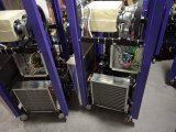 Vertikale Farbanstrich-Eiscreme-Maschine mit Aroma drei