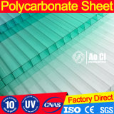 Feuille solide de toiture de polycarbonate en plastique clair avec le prix bon marché