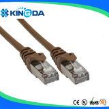 Alta qualidade do CU do cabo do cabo da correção de programa de SSTP CAT6A