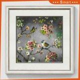 La toile estampe la peinture d'oiseaux de pétrole de toile de salle de séjour de décorations de mur