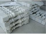 自動Multibladesの石造りの柵または柱またはコラムまたは手すりの切断か側面図を描く機械